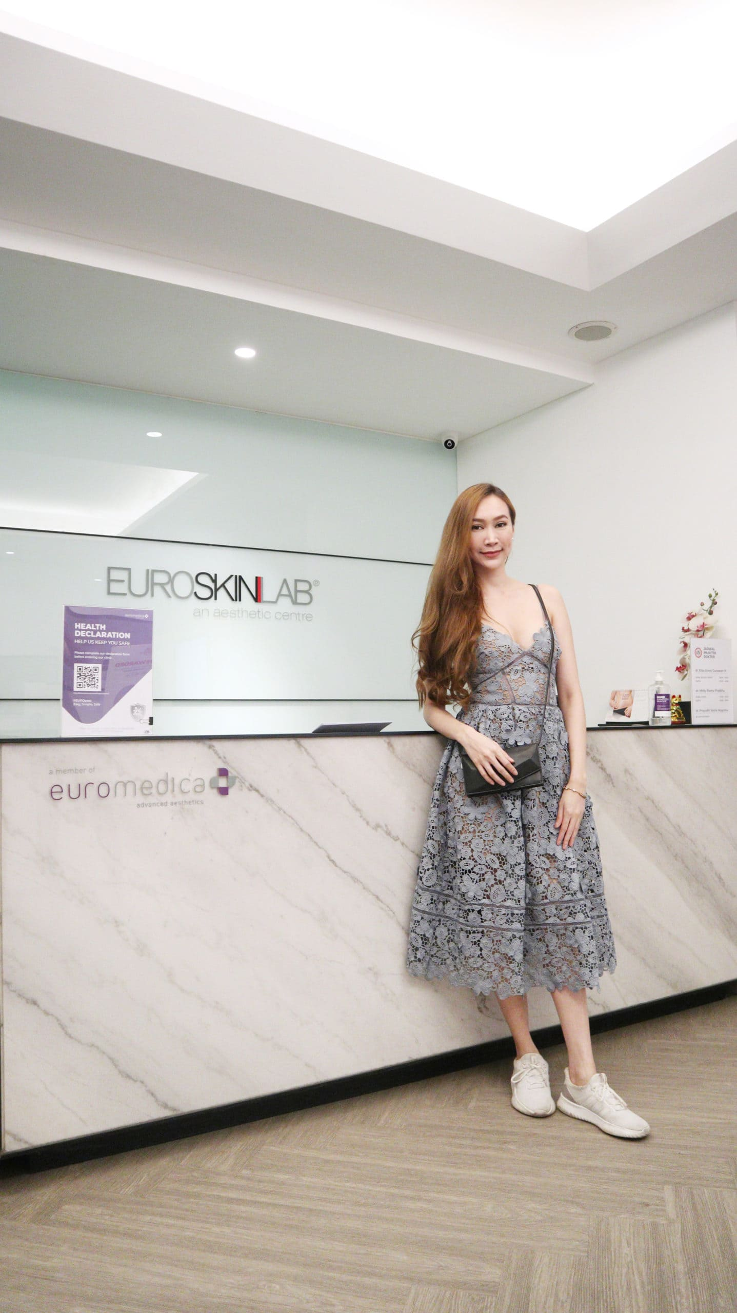 """""""I have no words to describe how pleasant the treatment was. Its 100/10. The treatment so painless at all. Im so relax and recharge. Thank you Euroskinlab"""""""